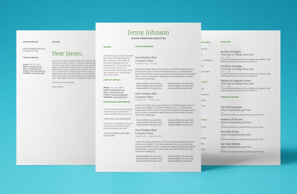 stunning resume template that commands attention