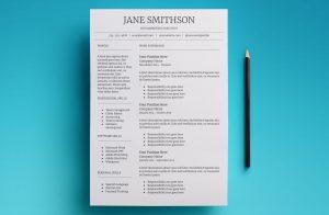 callisto resume template page 1