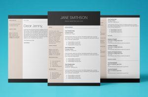 europa resume template bundle