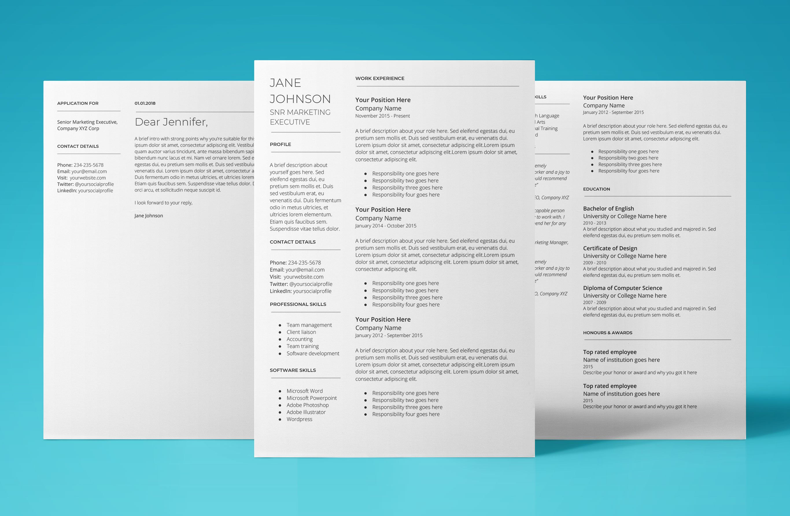 google doc resume template