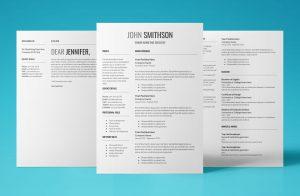 proxima resume template bundle