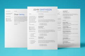 saturn resume template bundle