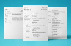 titan resume template bundle