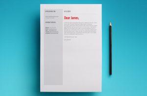 venus resume template cover letter