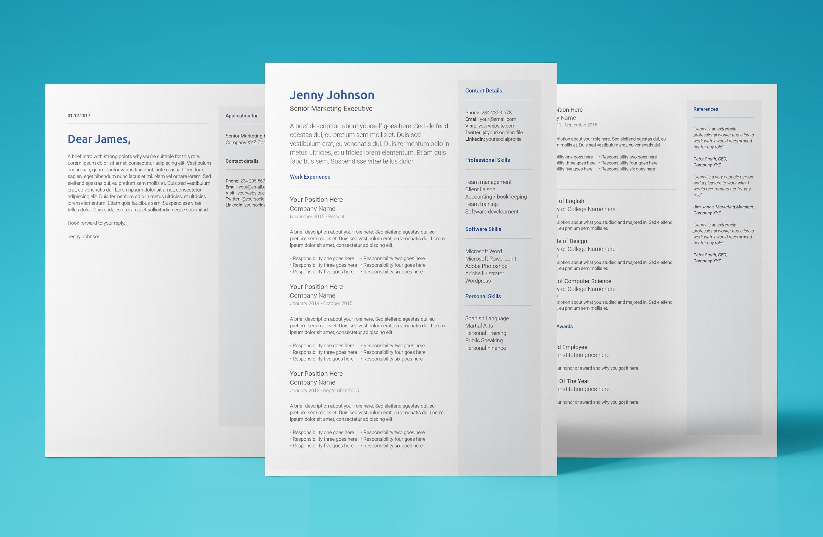Free Google Docs Resume Template - Download & Use Now! [ 2019 ]