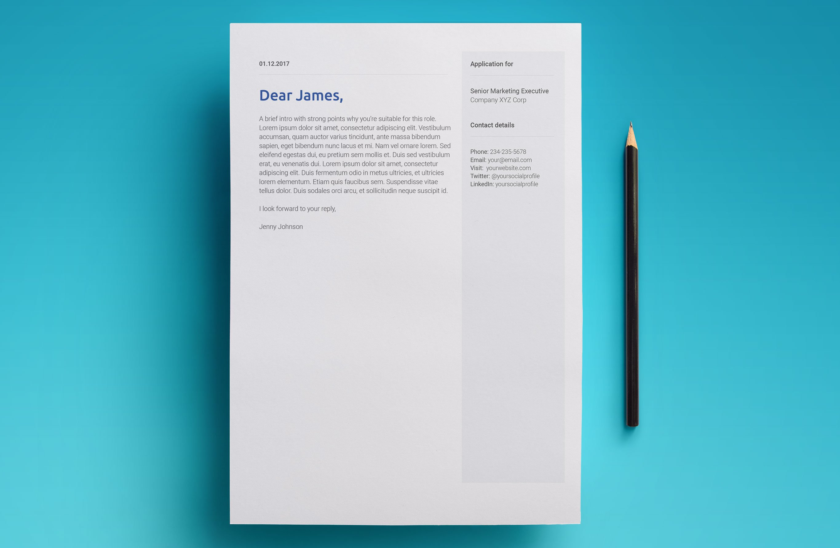 Free Google Docs Resume Template Cover Letter Sample
