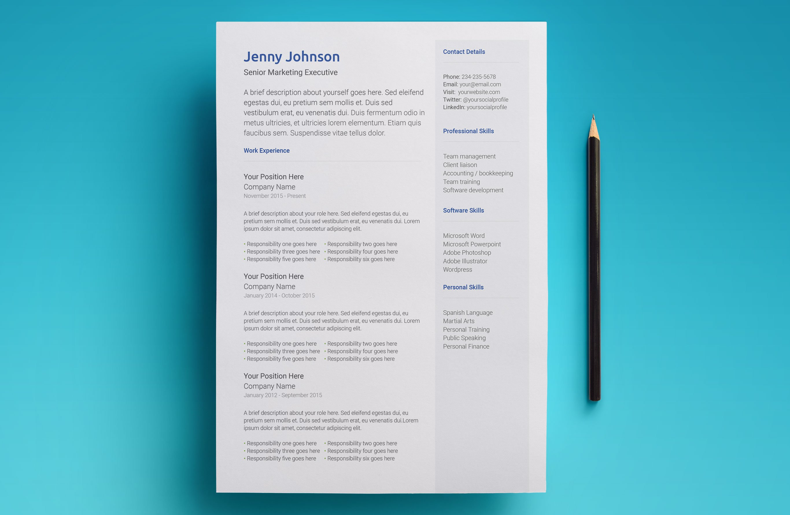 Create An Amazing Resume In Minutes With This Simple Template For Google Docs